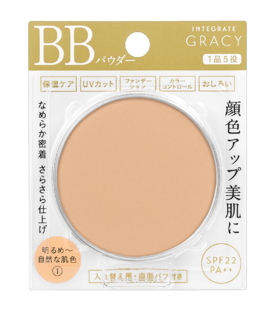 資生堂 インテグレート グレイシィ エッセンスパウダーBB 1、明るめ~自然な肌色(レフィル)