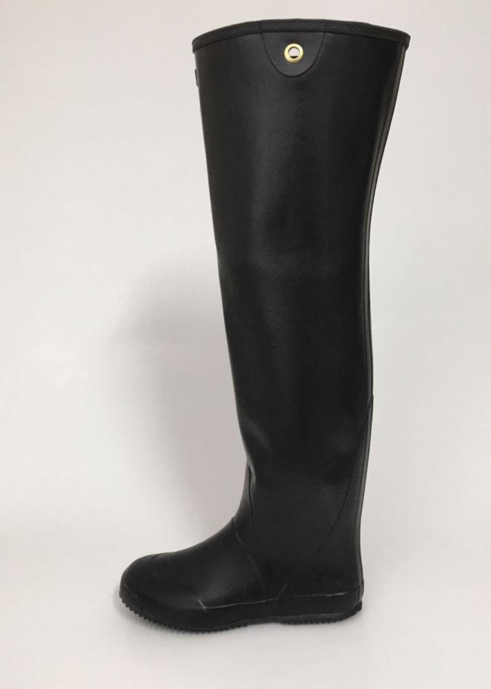 収穫名人3 ロング長靴 黒 各サイズ