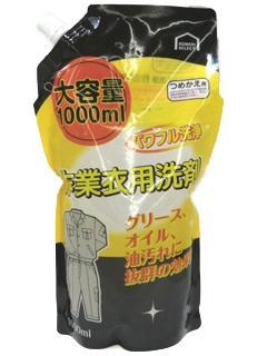 コメリセレクト 作業衣用洗剤 詰替用 大容量 1000ml