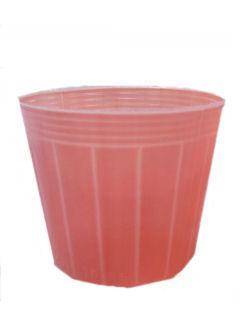 カラーポット 100個組 10.5cm ペールオレンジ