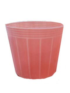 カラーポット 100個組 9.0cm ペールオレンジ