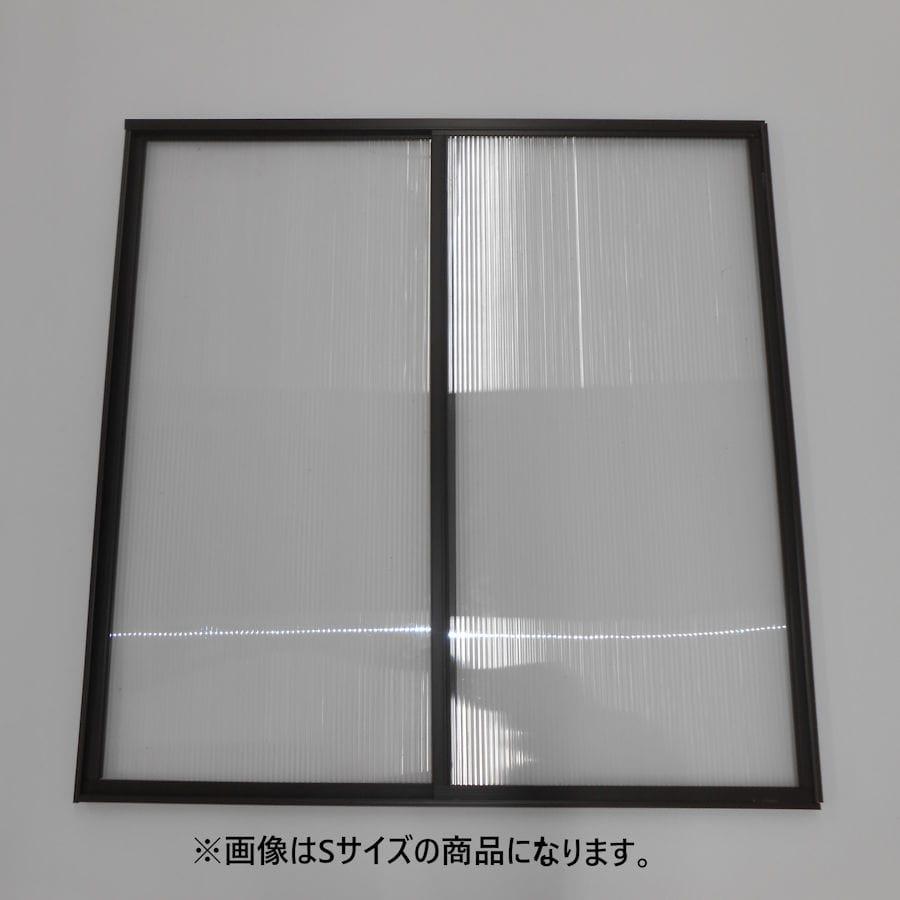 エコな簡易内窓キット ブラウン Mサイズ