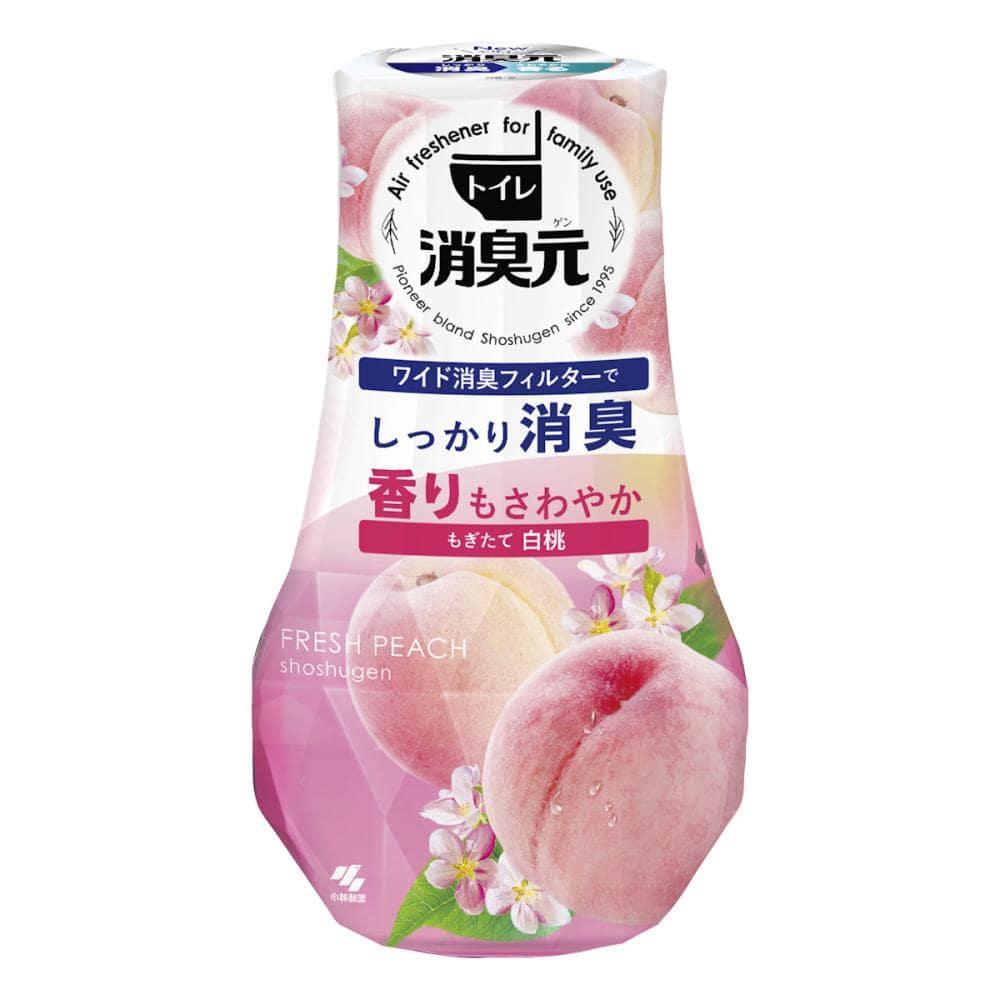 トイレの消臭元 白桃の香り 400ml