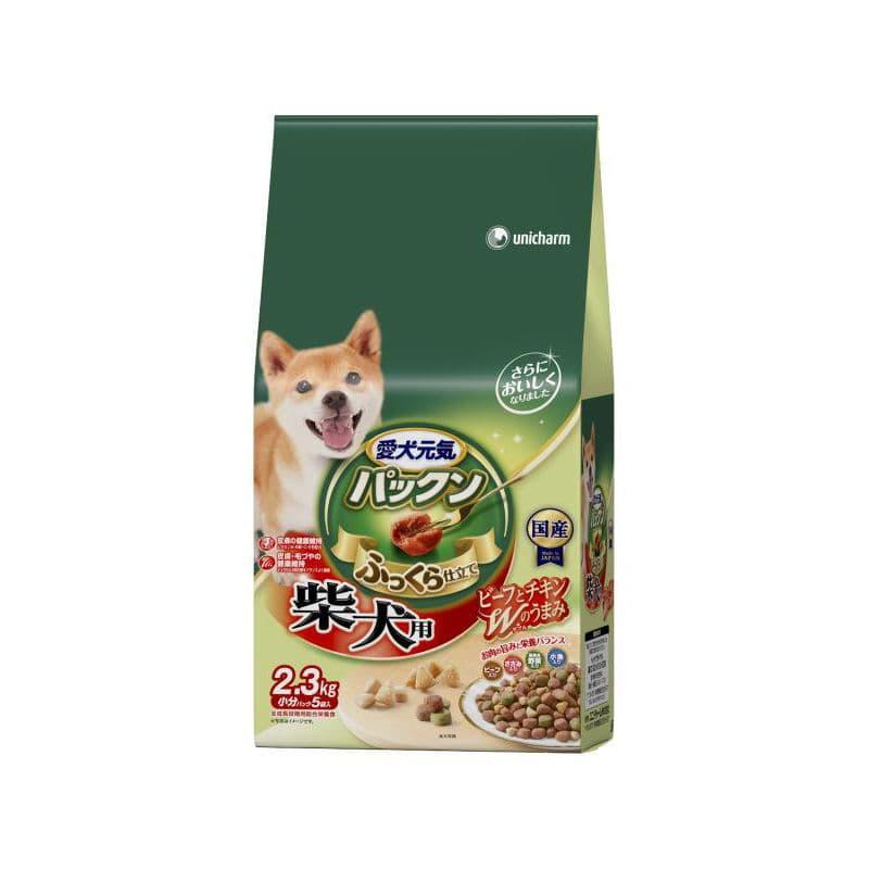 愛犬元気パックン 柴犬用 2.3kg