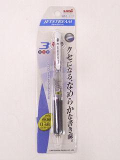 三菱 ジェットストリーム3色 0.38 透明