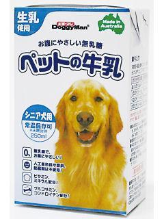 ペットの牛乳 シニア犬用 250ml