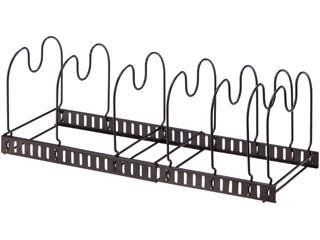 スタイルフリー 伸縮式フライパンラック