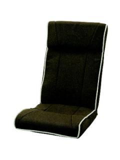 レバー式ハイバック座椅子 KFN-フィーゴ ブラウン
