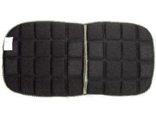 竹炭メッシュクッション W 23KMC02 ブラック