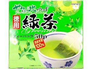ハラダ製茶 やぶ北ブレンド徳用緑茶ティーバック 50パック