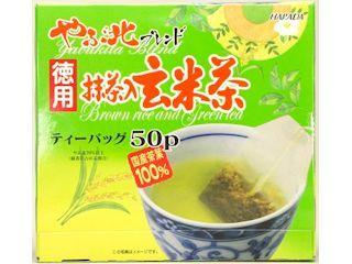 ハラダ製茶 やぶ北ブレンド徳用抹茶入玄米茶ティーバック 50パック