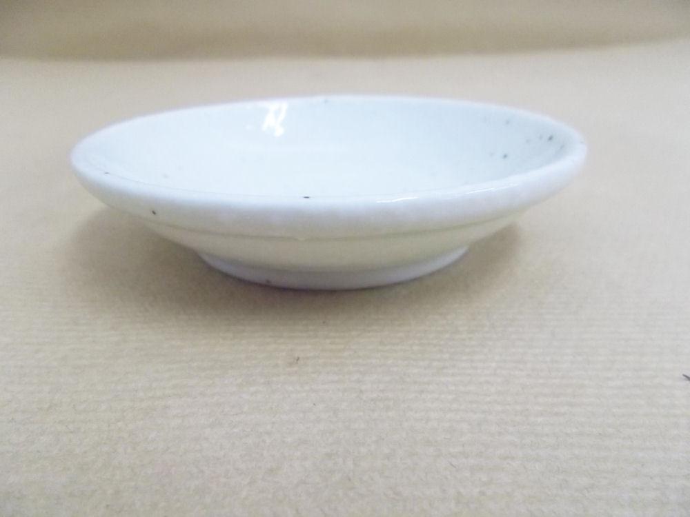 【美濃焼】粉引 皿9cm