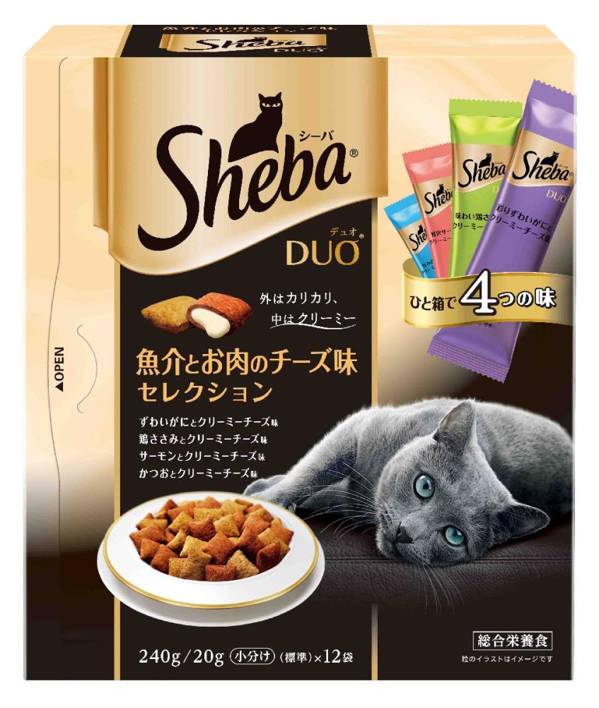 シーバDuo 魚介とお肉チーズ味 240g