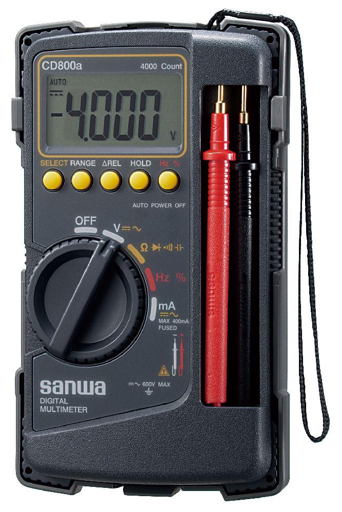 三和 デジタルマルチメータ CD800a-P