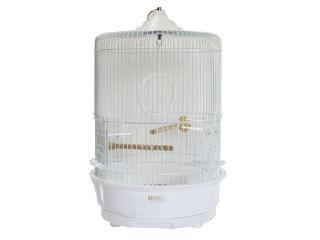 ホウエイ(HOEI) 鳥カゴ R-440M白色塗装(P)