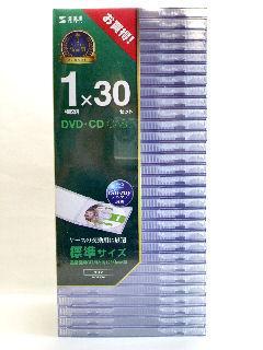 サンワS CD・DVDプラケースFCD-PN30C
