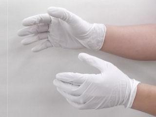 ゴム極薄手袋 100P L