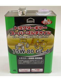 コメリセレクト トラクターギアマルチGL4 75W80 4L