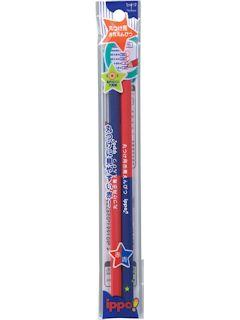 トンボ鉛筆 丸つけ用赤青えんぴつ
