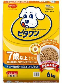 日本ペットフード ビタワン 7歳以 上6kg
