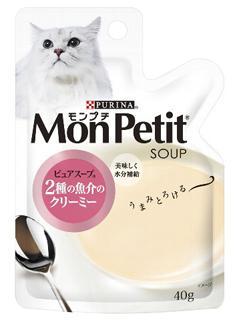 モンプチ スープ 2種の魚介のクリーミー 40g