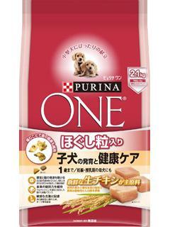 ピュリナワン ドッグ ほぐし粒入り 子犬の発育と健康ケア チキン 2.1kg