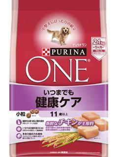 ピュリナワン ドッグ 11歳以上 いつまでも健康ケア 小粒チキン 2.1kg