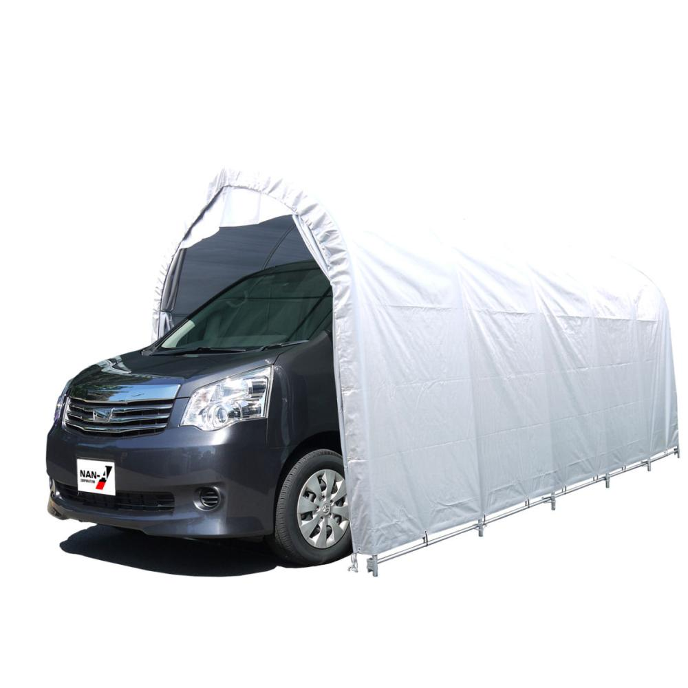 南榮工業(南栄工業) パイプ車庫本体 W678M SVUSOR 普通小型車用