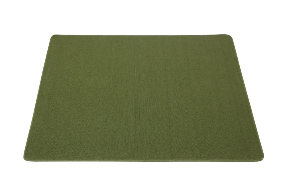 デスクカーペット 133×110cm グリーン
