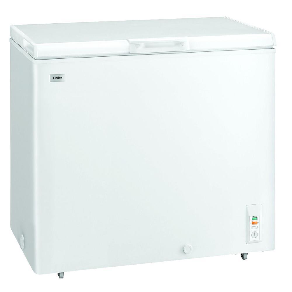 ハイアール 直冷式 上開き型冷凍庫 205L ホワイト JF-NC205F(W)