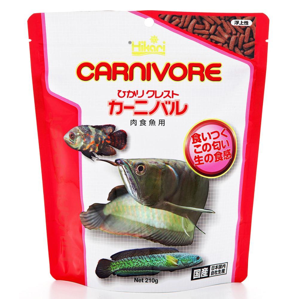 キョーリン ひかりクレスト カーニバル 肉食魚用 210g
