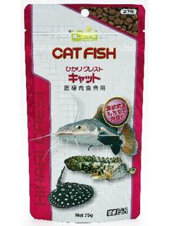 キョーリン ひかりクレスト キャット 底棲肉食魚用 75g