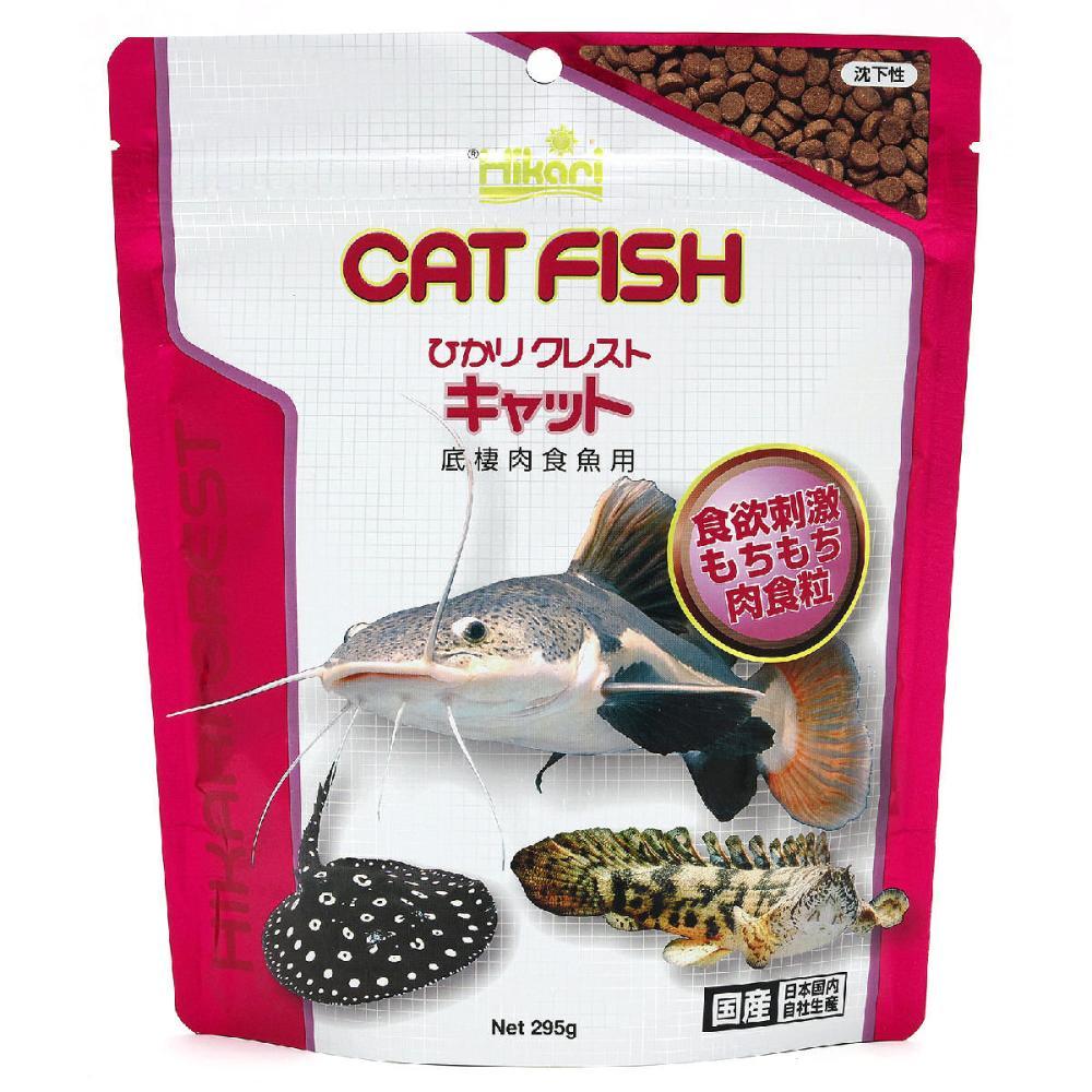 キョーリン ひかりクレストキャット 底棲肉食魚用 295g