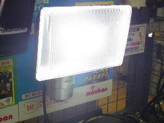 センサー調節 13W LED アルミセンサーライトAC