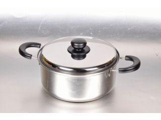 ステンレス三層鋼鍋 両手鍋 22cm