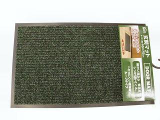 玄関マット ループタイプ 45×75 グリーン