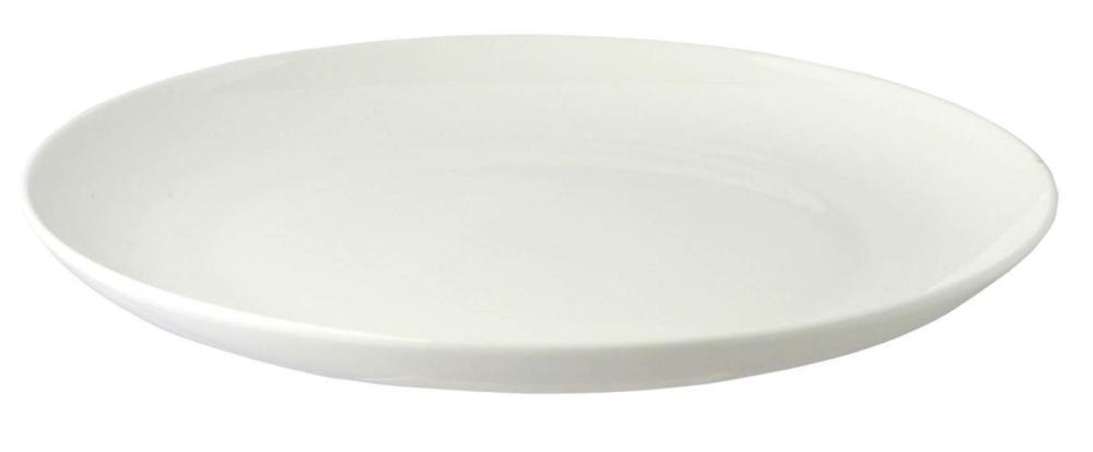 ボーンチャイナ製丸皿23cm