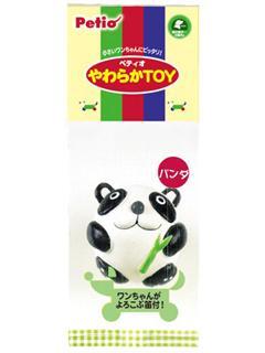 ペティオ やわらかTOY パンダ