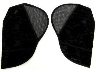 サマーハンドルカバー 超UVカット 黒 90046