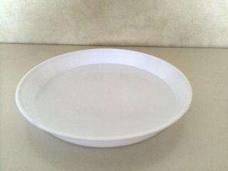 米検定皿 丸 白