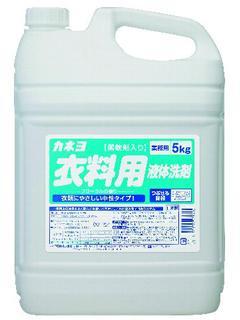 カネヨ 柔軟剤入り衣料用液体洗剤 5kg