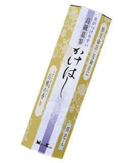 日本香堂 火がつけやすい かけはし 4把入 各種