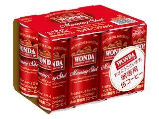 アサヒ ワンダ モーニングショット 185g×6缶パック