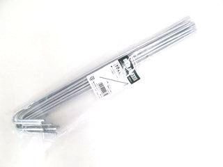 鉄線杭 10本セット 35cm