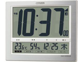コメリセレクト 電波掛置兼用時計 8RZ140