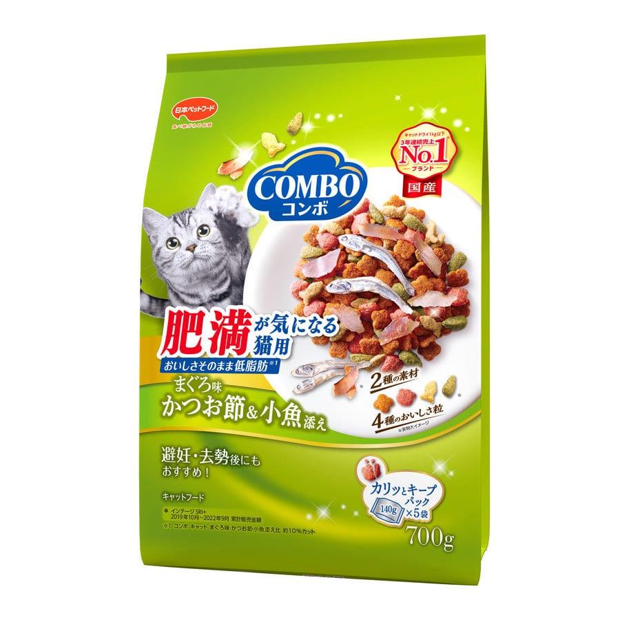 ミオコンボ キャット 肥満が気になる猫用 かつお味かつお節・小魚添え 700g