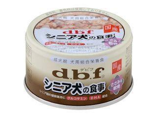 デビフ シニア犬の食事(ささみ&軟骨) 85g