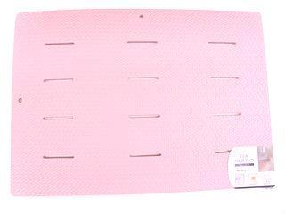 EVAお風呂スノコ 85×60 ピンク