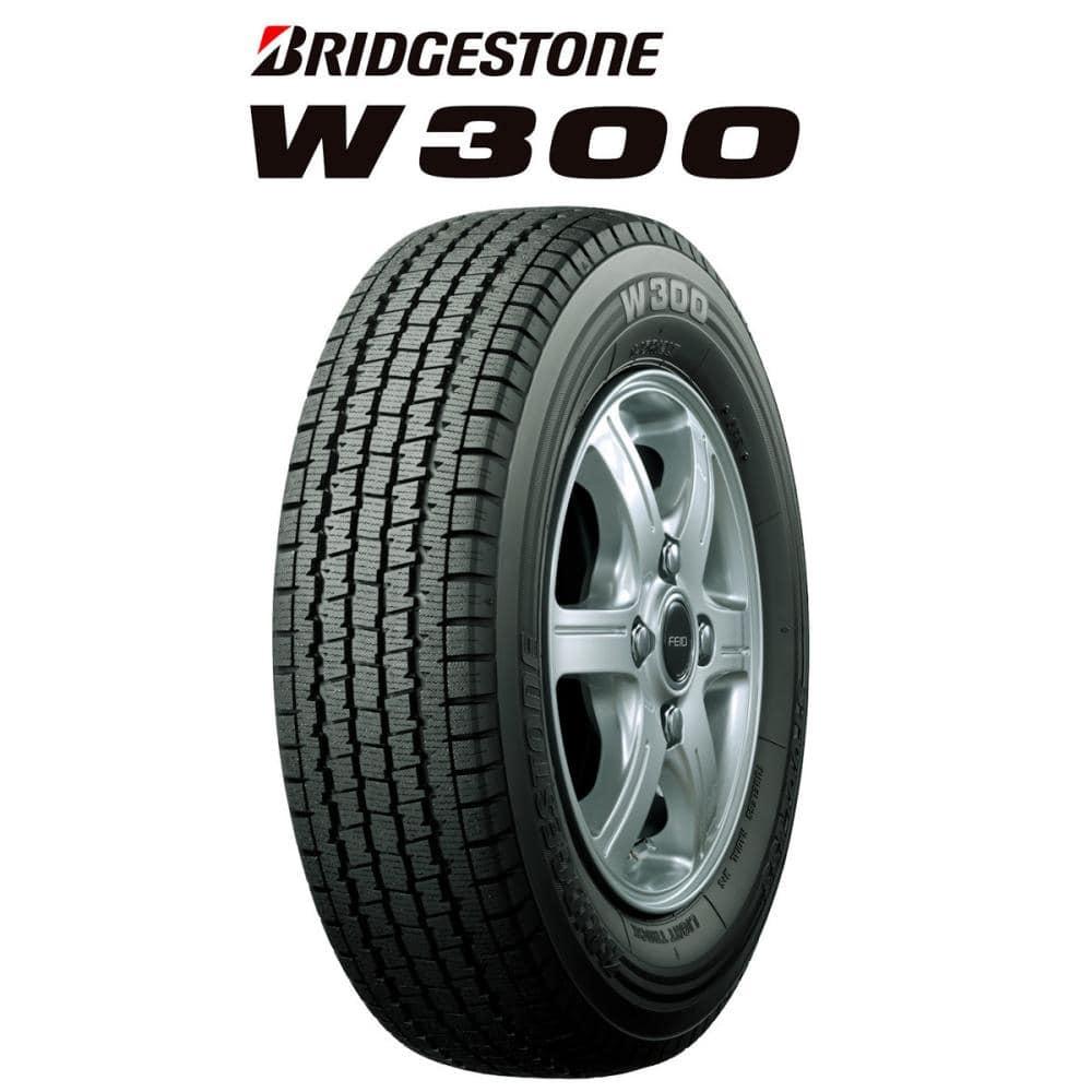 ブリヂストン W300 145R12 6PR アルミホイール 4本セット