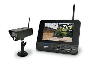 ワイヤレスカメラ モニターセット CMS-7001
